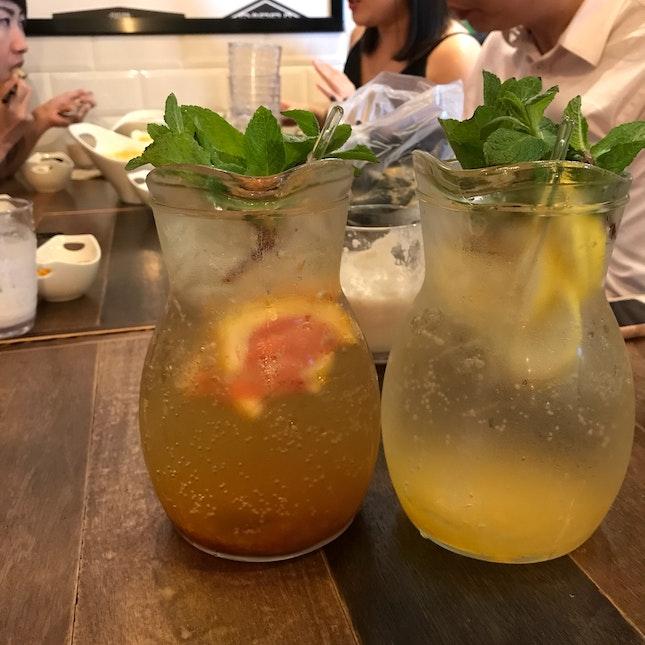 Grapefruit & Citrus Tea Ade