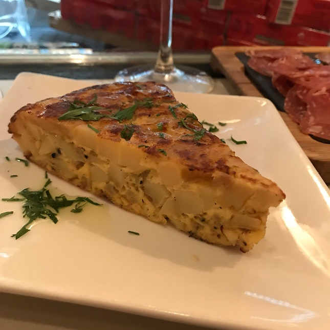 Potato & Onion Omelette ($8)