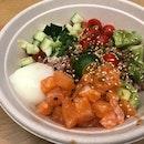 Salmon Poké ($9.90)