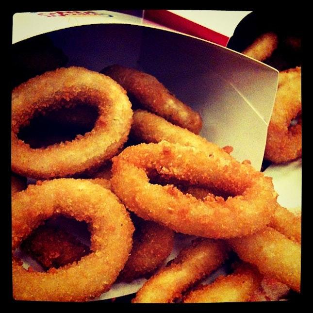 #onionrings #burger #fastfood #food