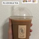 Pu Er Milk Tea