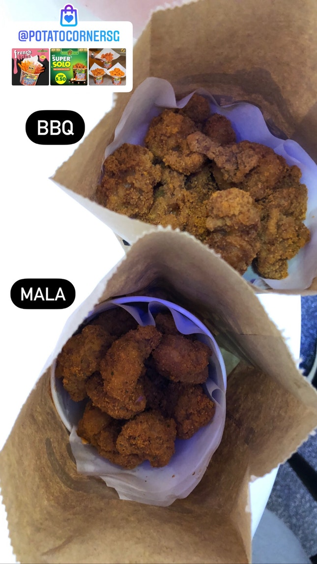 BBQ & Mala Super Chicken Pop