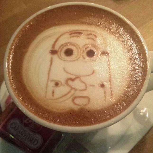 Minion Coffee 😍