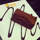 Our #chocolate #cake for #dessert ^^ Yumzzz!!!
