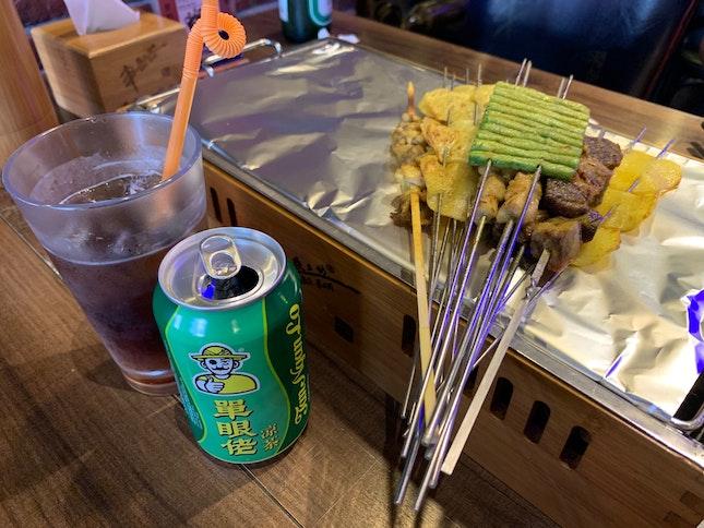 Chinese skewers Using Eatigo 50% Deal