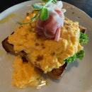 Truffle Egg Prosciutto