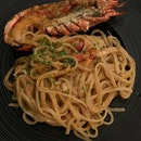 Chilli Lobster Linguine