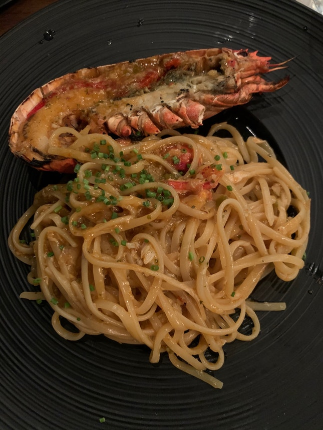 Chilli Lobster Linguine