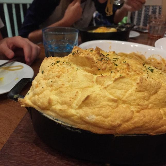 Curry Soufflé Rice