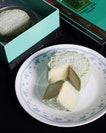 received these gems from @peonyjadesg: rich msw durian pulp encased in pandan snowskin.