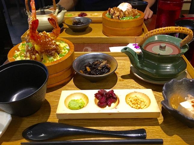 Ebi Tempura Lunch Set
