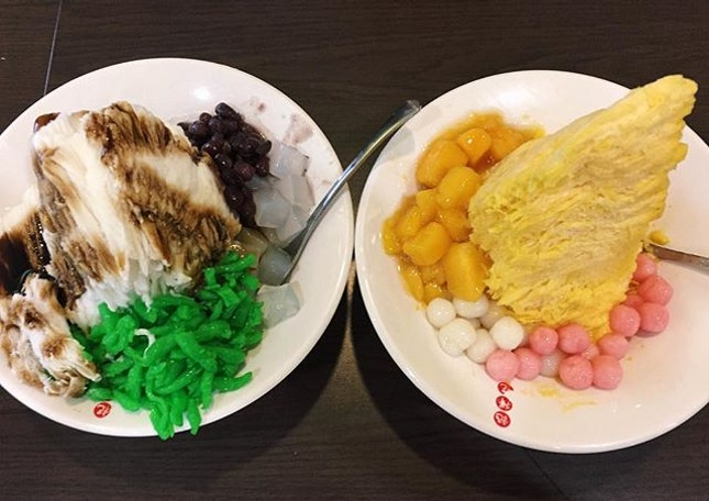 Mango Passionfruit & Chendol Snow Ice (2 for $10 student deal; u.p $6.90-7.90) 🍧 ⭐️ 3.5/5 ⭐️ 🍴A great steal with student deal, with each for $5.