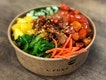 Light bowl ($9.90) ⭐️ 4/5 ⭐️ 🍴75g of poke is quite a small portion but good for those looking for something light.