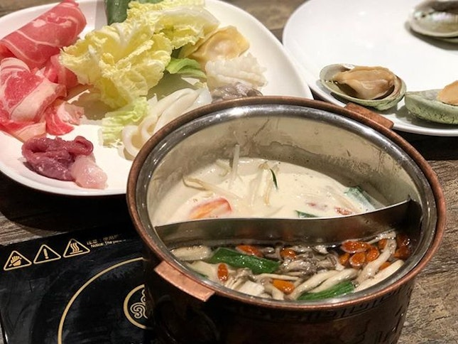 Hotpot buffet ($26.80) ⭐️ 3.5/5 ⭐️ 🍴Hotpot buffet at a reasonable price of $26.80 for weekday lunch/ $29.80 for weekend lunch.