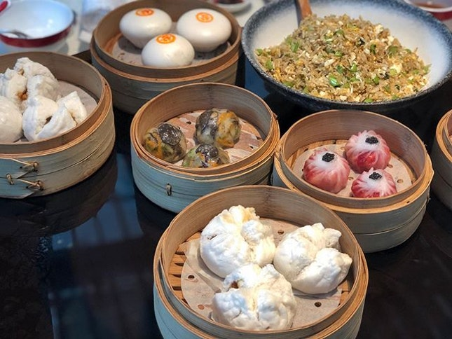 Dim sum  Overall ⭐️ 4.5/5 ⭐️ 🍴Really delicious #dimsum and although it's relatively more expensive, would say that it's worth the price for the higher quality.