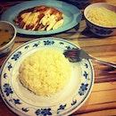 Rex Chicken Rice for dinner.