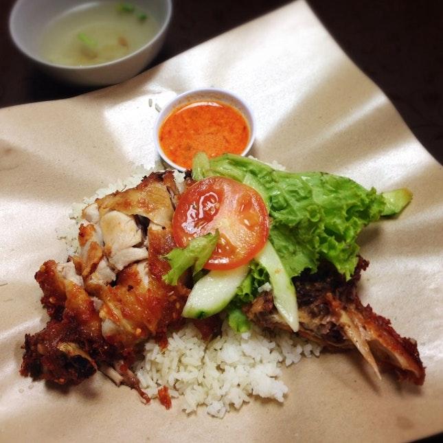 """""""Nasi Ayam"""" aka Chicken Rice"""