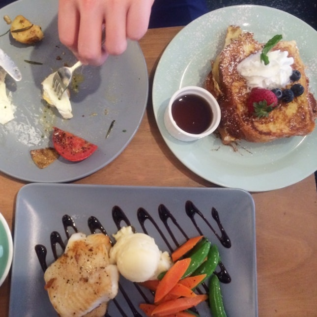 Haddock Fillet & French Toast