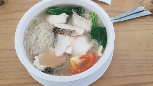 Sliced Fish Bee Hoon Soup ($5)