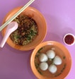Super value for money fishball noodles!