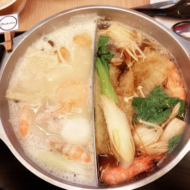 hotpot buffet with time limit.