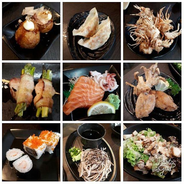 japanese ala carte buffet lunch.