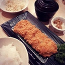 birthday dinner with the fam at one of our favourite places for tonkatsu.