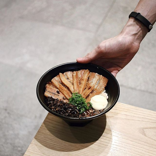 This bowl of Charshu donburi $13.90 would best describe my definition of comfort food.