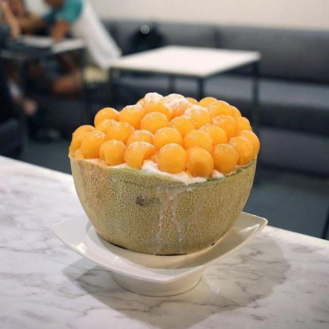 Melon Bingsu $18 From Bingki.