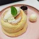 Classic Soufflé Pancakes | $9.80