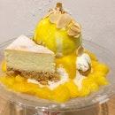 Mango And Cheesecake Bingsu