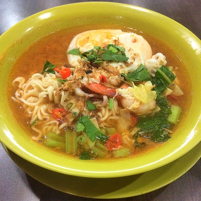 Maggie Soup Seafood ($5.00)