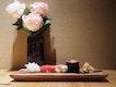 Negitoro, Seabass, Akami, Shiraebi (part of $88++ set meal)