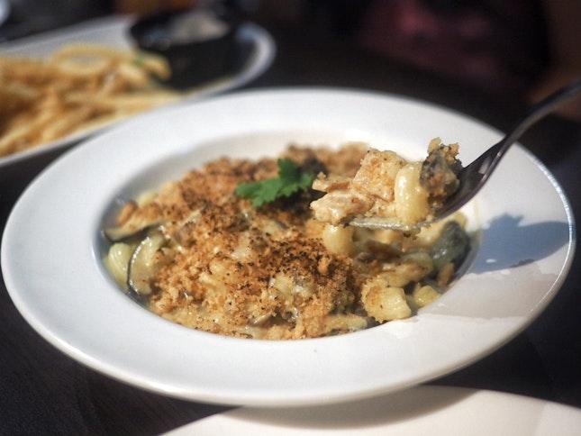 Truffle Mac & Cheese ($18)
