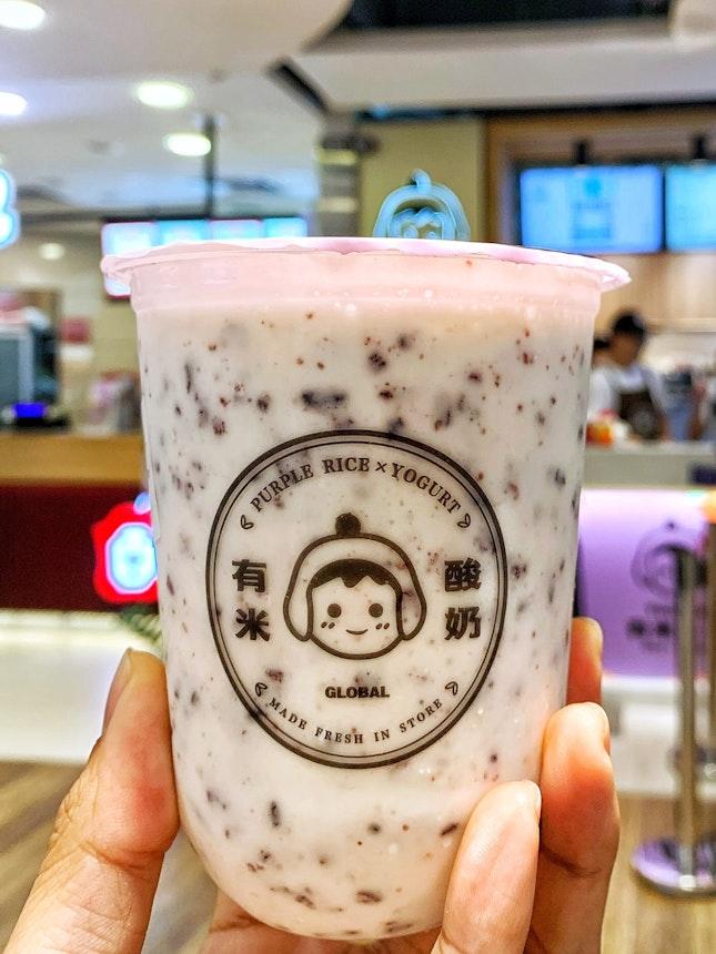Yomie's Purple Rice Yogurt ($5.60)