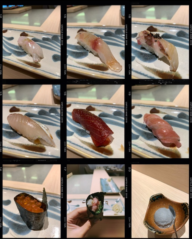 13-course Lunch Omakase ($38++)