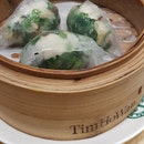 Spinach and Shrimp Dumplings