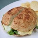 Wasabi egg mayo sandwich #nofilter #nomnomnom