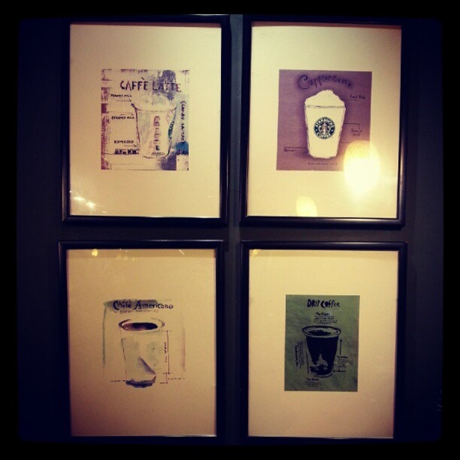 Starbucks #takepicha #picture #frame #wall #coffee