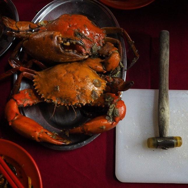 Crabbing in Klang.