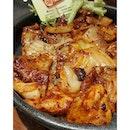 Kimchi BBQ Pork #amattakhalal  It has been 2 weeks since the last makan + soju bomb at @gangnam_88.