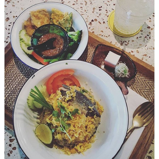 Pla Tu Rice lunch set @RM19.90 First proper meal of the week.