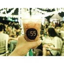 Why not have a cup of Thai Iced Milk Tea when you're at the Singapore Night Festival?