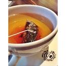 Having Coffee Bean's Seasonal Tea: Peppermint Hot Stick Tea!