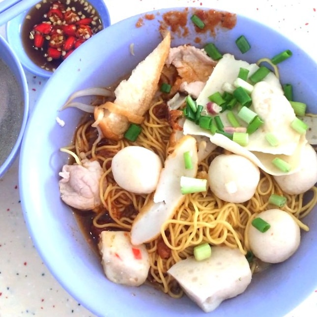 For Deliciously Underrated Fishball Noodles