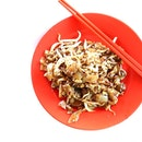 So much skill, so much gusto, goes into the place of fried Kway teow with wok hei.