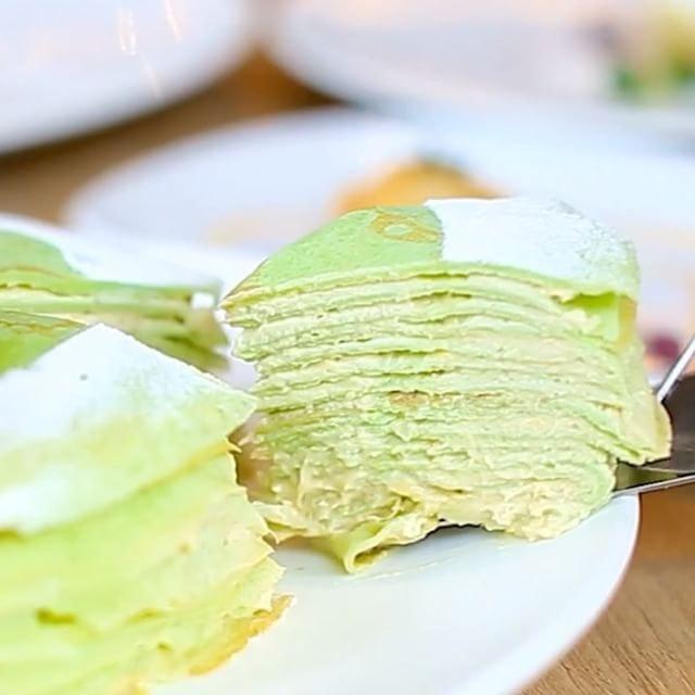 Durian Crepe Cake!