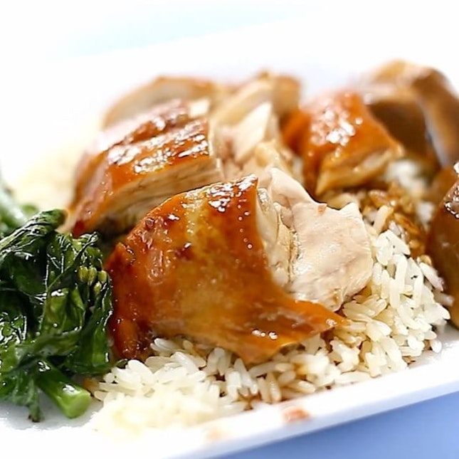 Sudden cravings for HK style Soya Sauce Chicken.