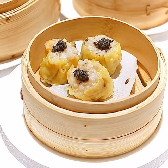 Truffle Steamed Pork & Shrimp Siew Mai, and other dim sum delights at Yan Ting.