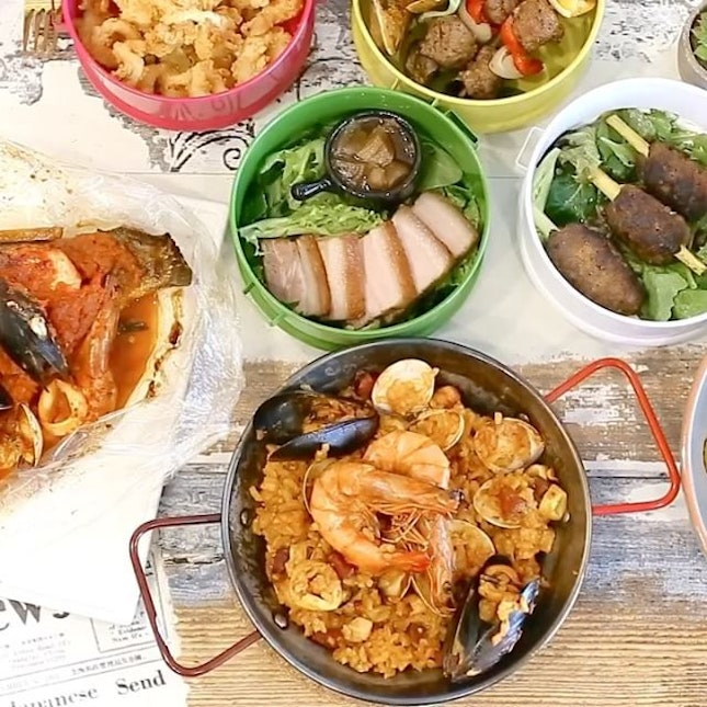 Check out Scissors Paper Stove @scissorspaperstove , a pretty instagrammable place found in Serangoon, serving up Spanish Tapas with Asian flavours.